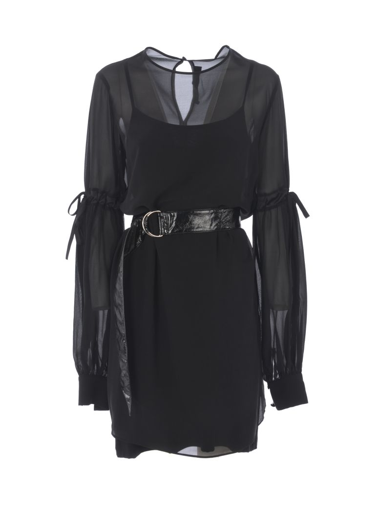 Federica Tosi Belted Dress - Nero