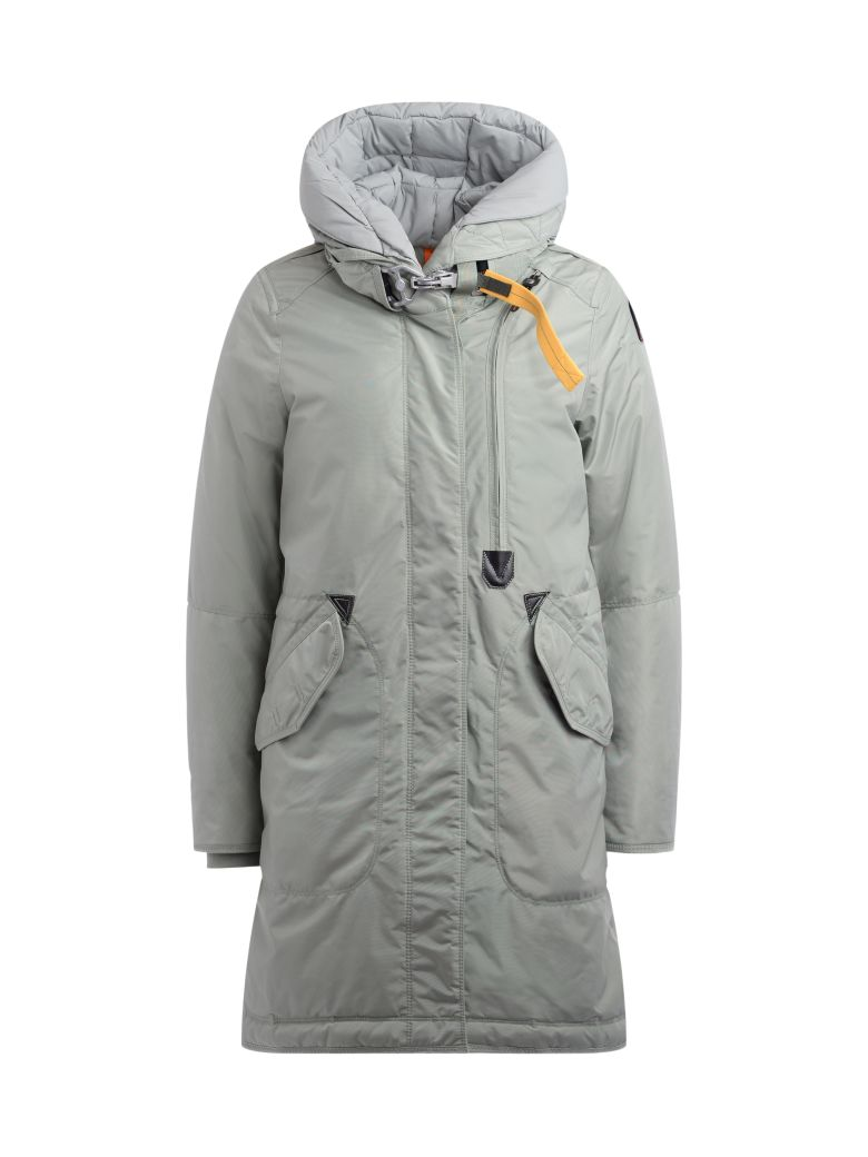Parajumpers Parka Parajumpers Tank Aloe Color Base Padded With Down - NERO