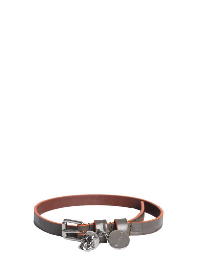 Alexander McQueen Skull Bracelet - MULTICOLOR
