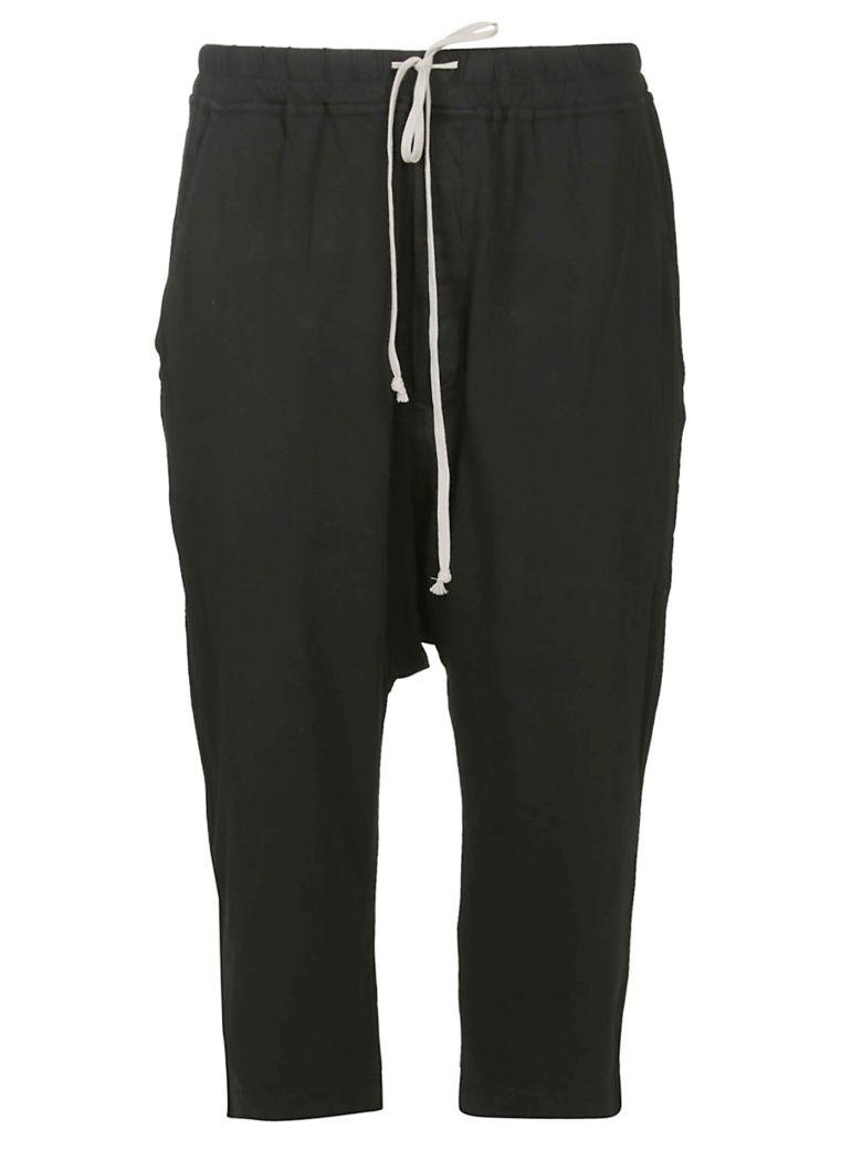 DRKSHDW Rick Owens Drkshdw Cropped Track Pants - Black
