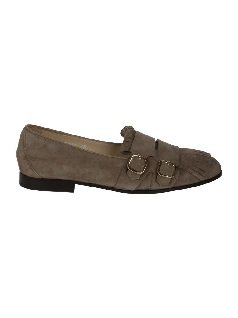Doucal's Double Buckle Loafers
