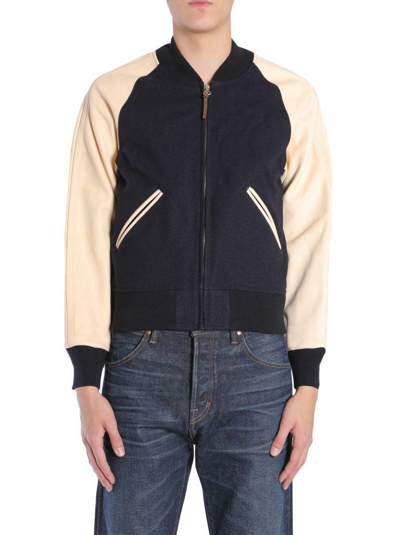 Visvim Varsity Jacket - BLU