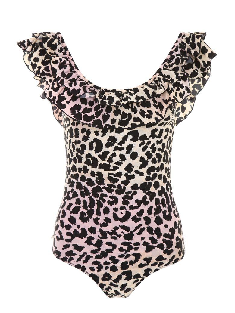 LOVE Stories Ruby Leopard Swimsuit - MAUVE|Beige
