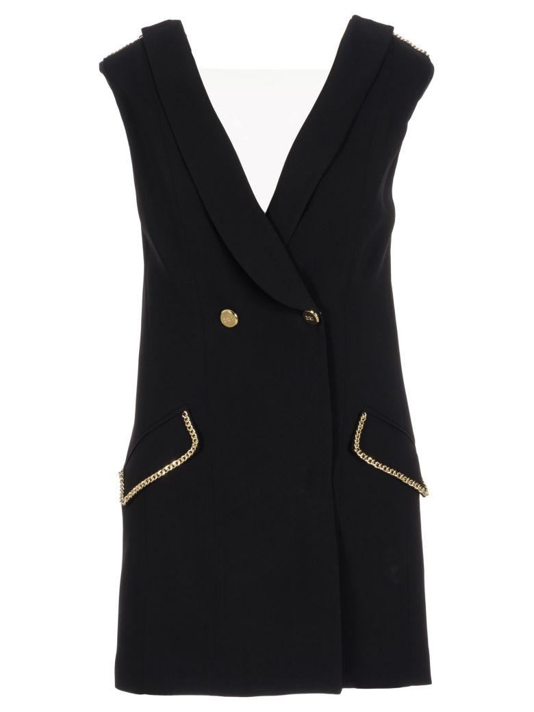 Elisabetta Franchi Celyn B. Elisabetta Franchi V-neck Dress - Black