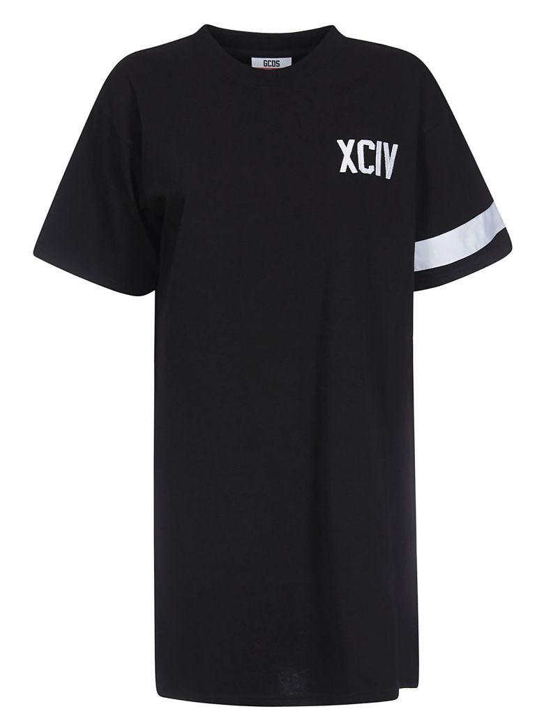GCDS T-shirt Dress - Black