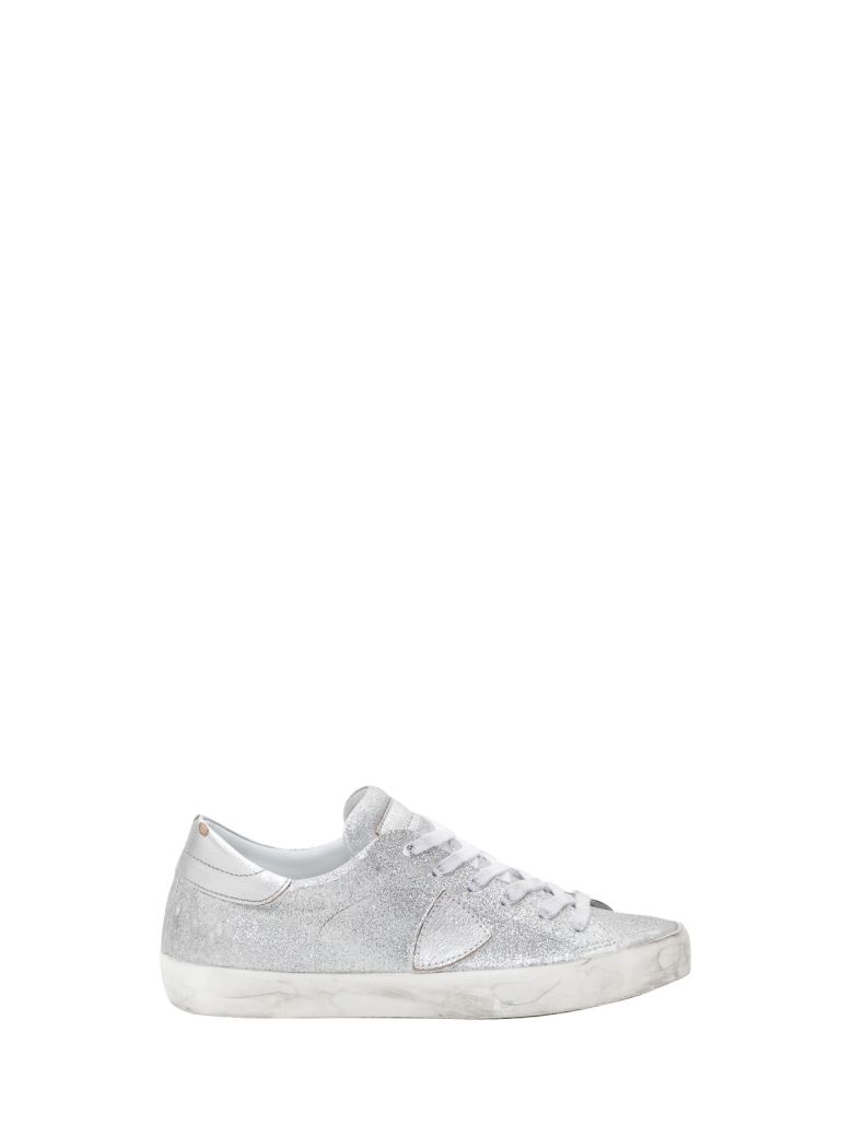 Philippe Model Paris Low-top Sneakers - Silver
