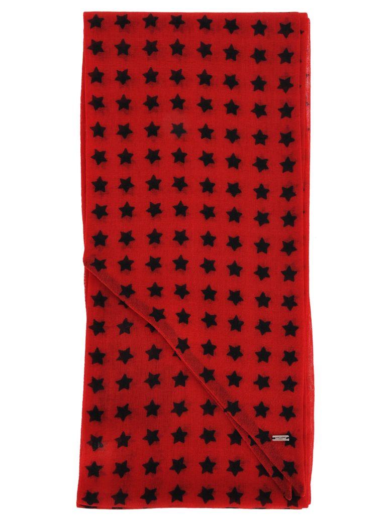 Saint Laurent Foulard - Red
