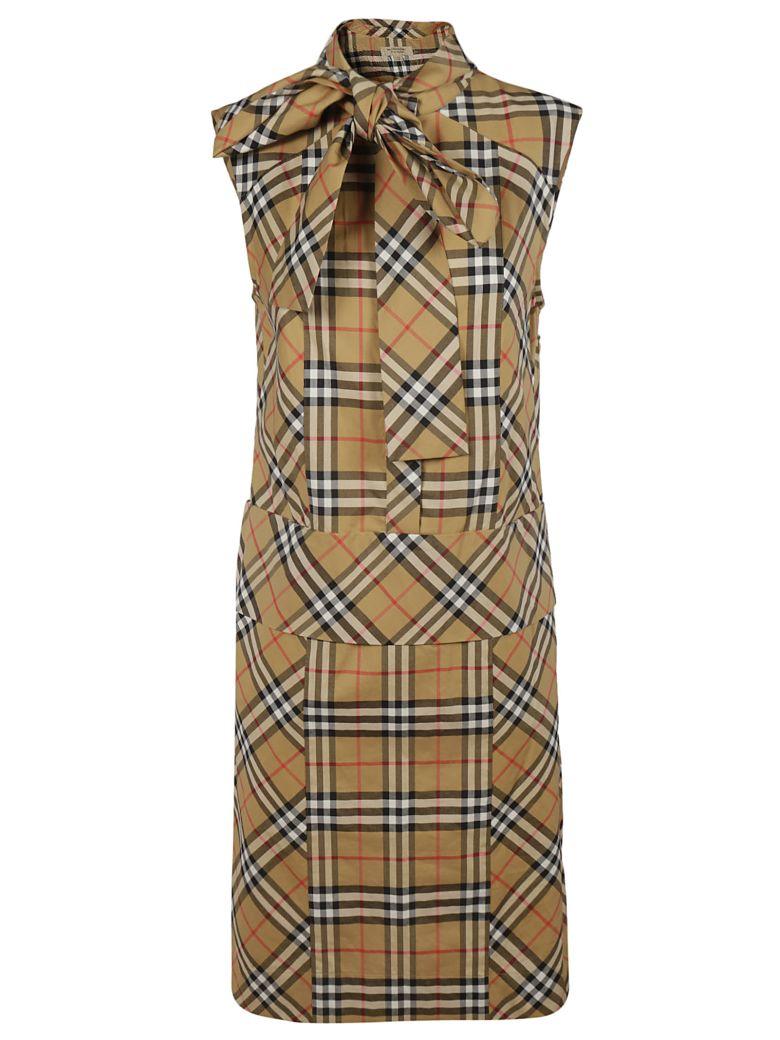 Burberry Checked Dress - check