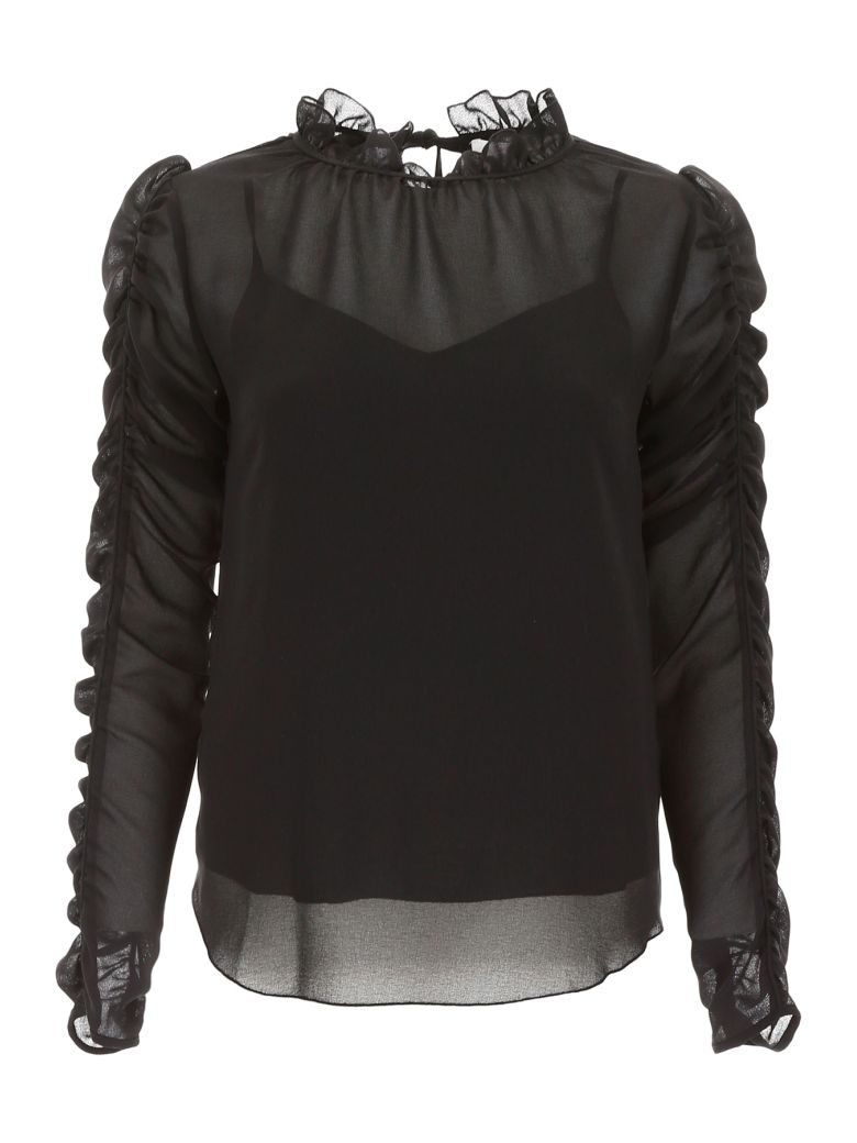 See by Chloé Orgera Blouse - BLACK (Black)