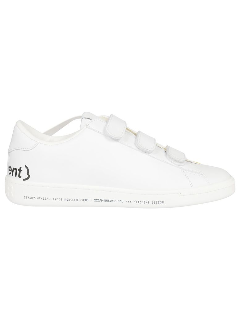 Moncler Genius Touch Strap Sneakers - White