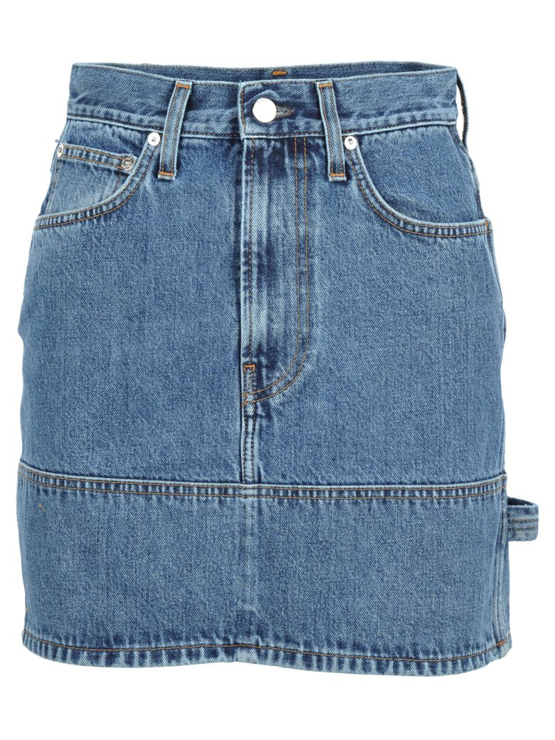 Helmut Lang Mini Denim Skirt - Basic