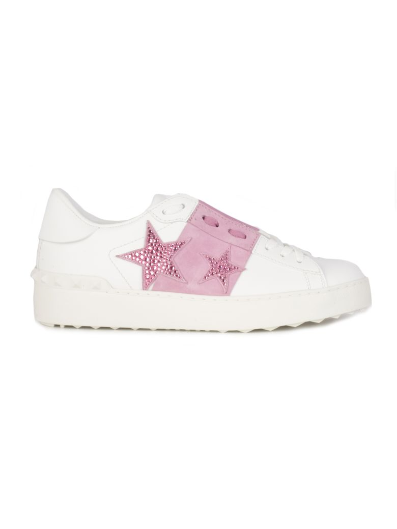 Valentino Open Sneakers - Acx White Rose Giacinto