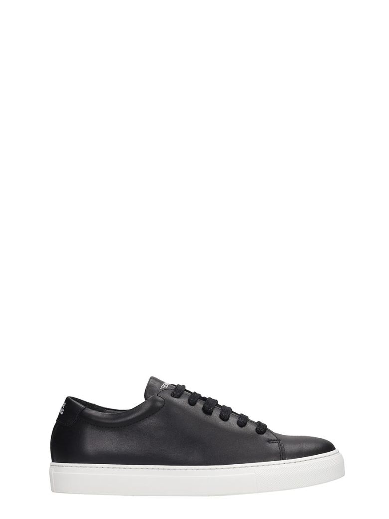 National Standard Edition 3 Sneakers In Black Leather - black