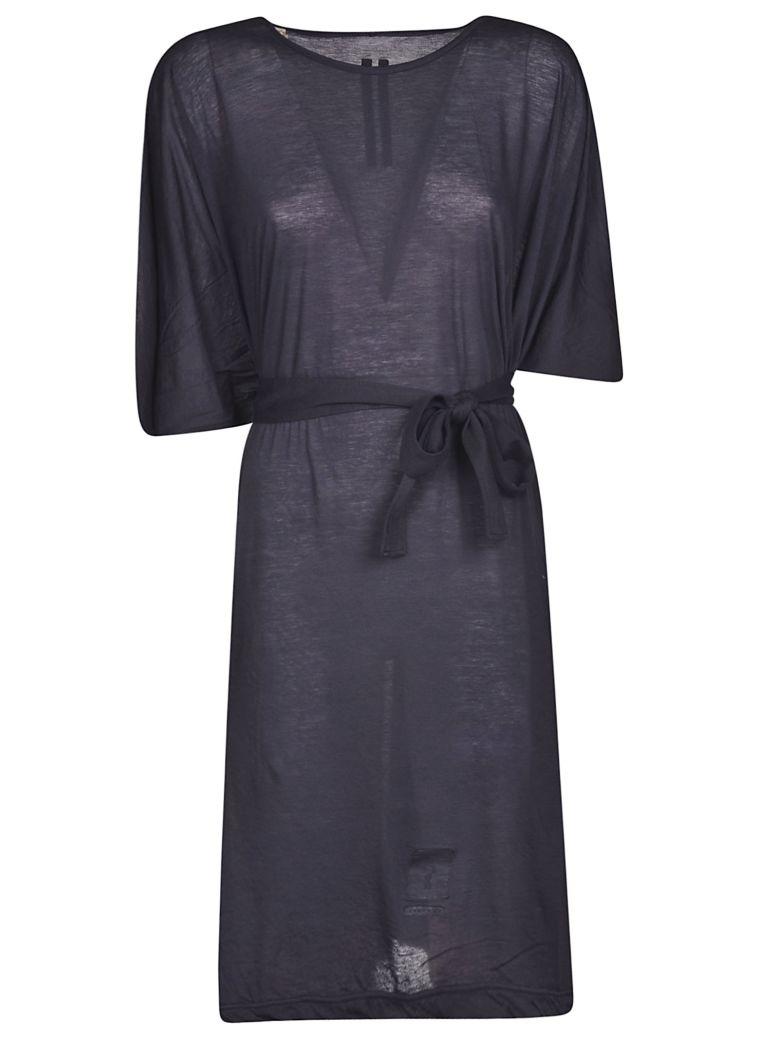 DRKSHDW Belted T-shirt Dress - Indigo