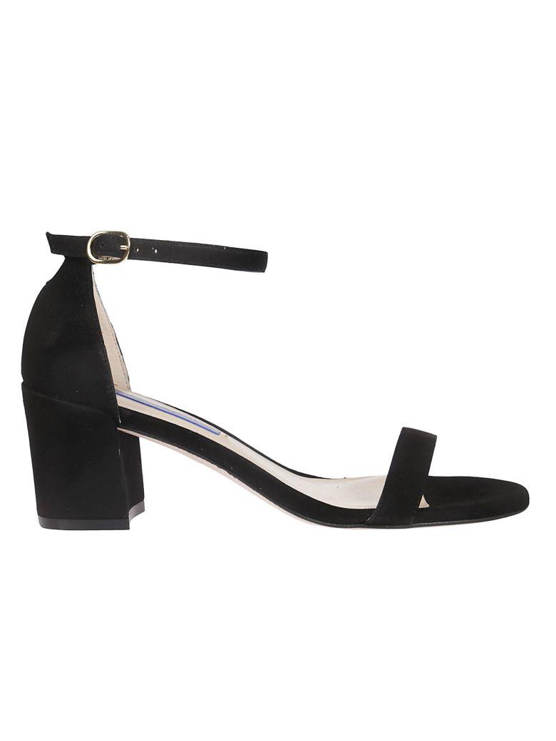 Stuart Weitzman Simple Glass Sandals - Black