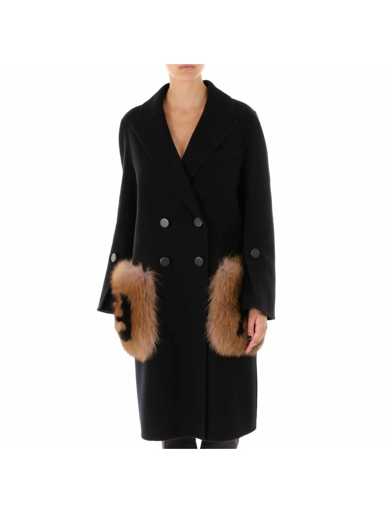 Fendi Coat - Black