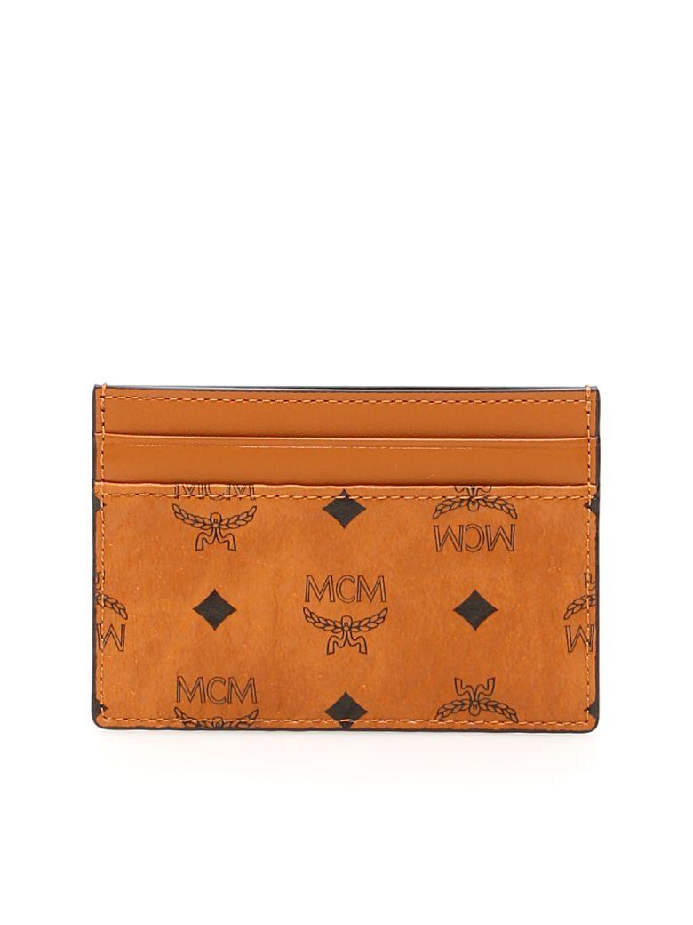 MCM Visetos Cardholder - COGNAC (Brown)