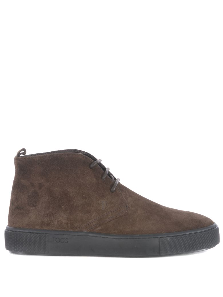 Tod's Classic Lace-up Boots - Brown