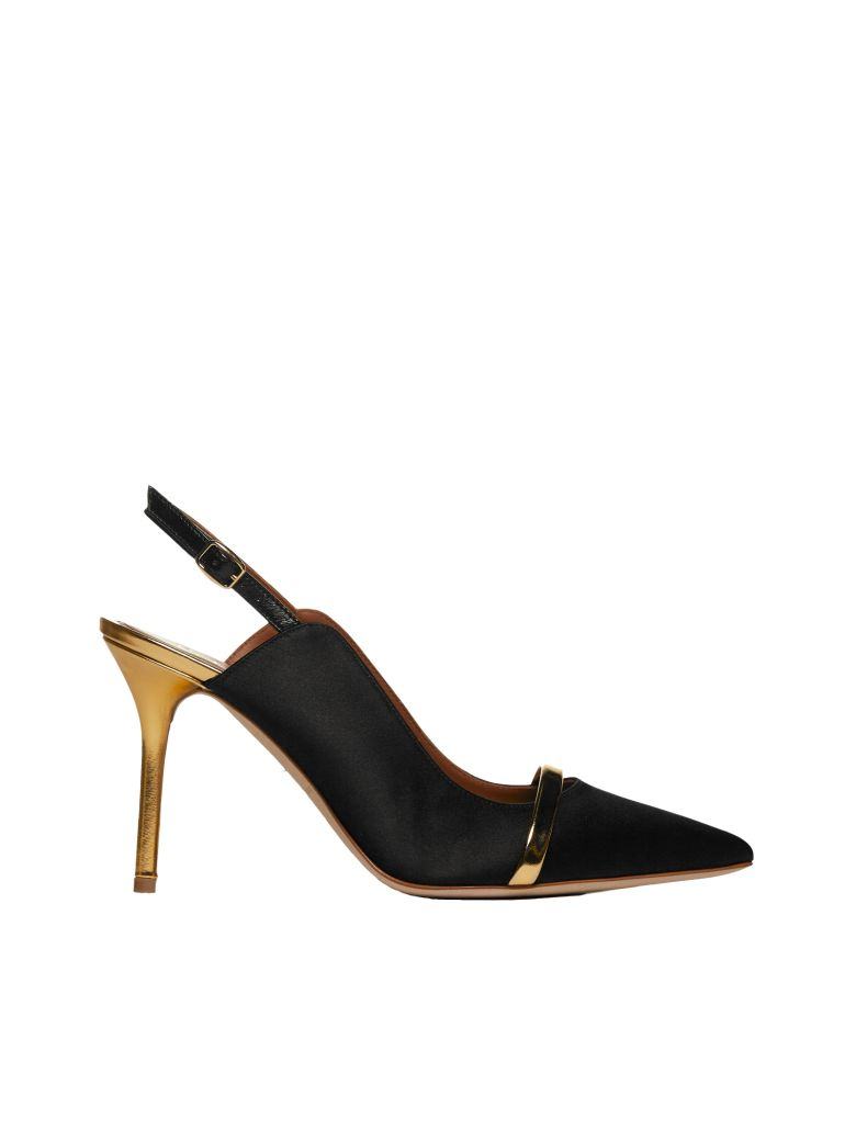 Malone Souliers Buckled Pumps - Black
