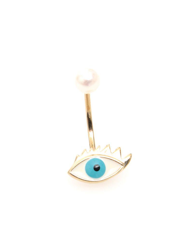 Delfina Delettrez Eye Earring 9kt Gold - Basic