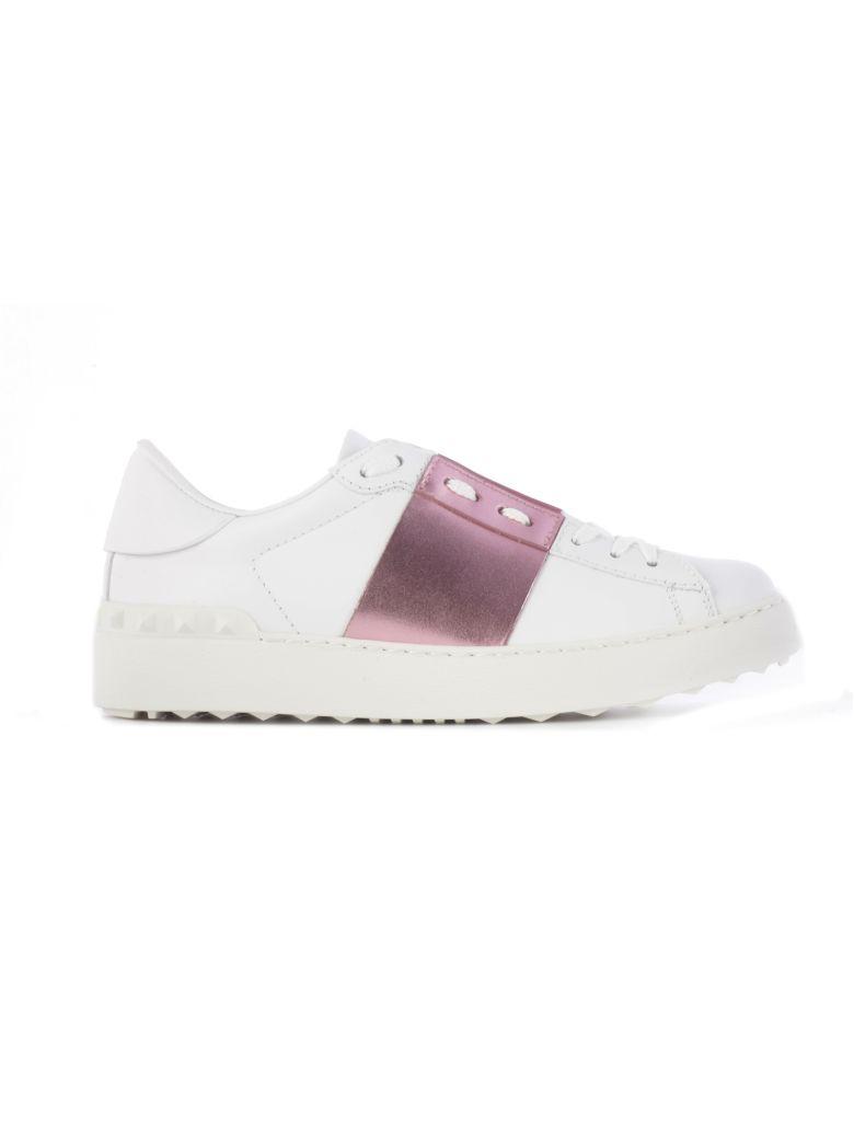 Valentino Garavani Open Sneakers - White Pink