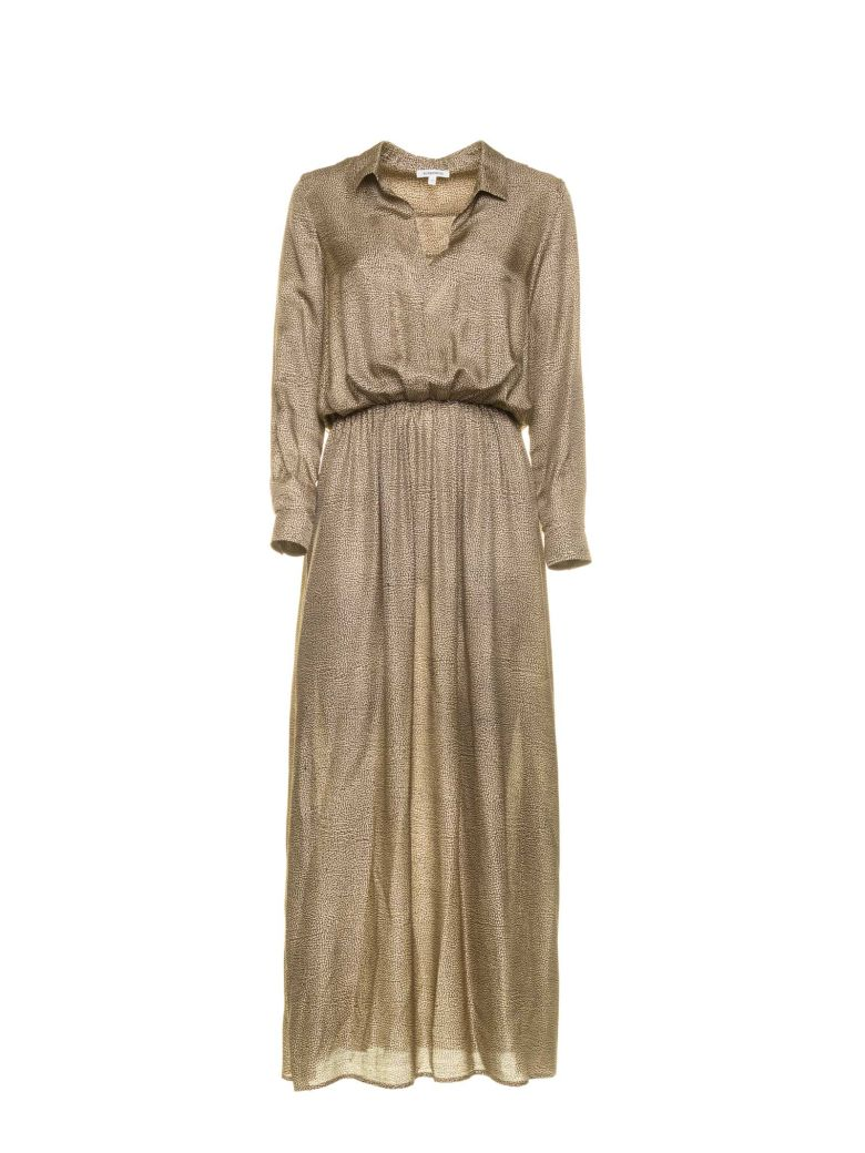 Borbonese Borbonese Dress With Op Pattern - NATURALE