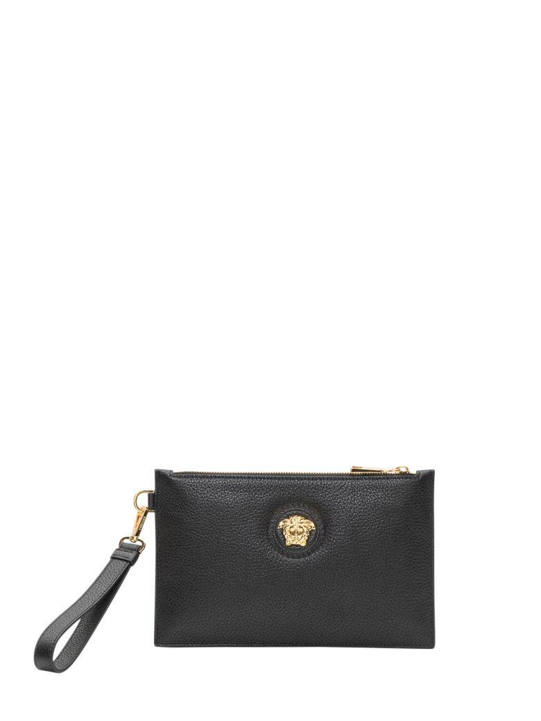 Versace Wristlet Clutch Bag - Nero