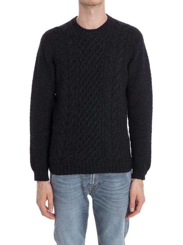 Drumohr Round Neck Wool - Gray