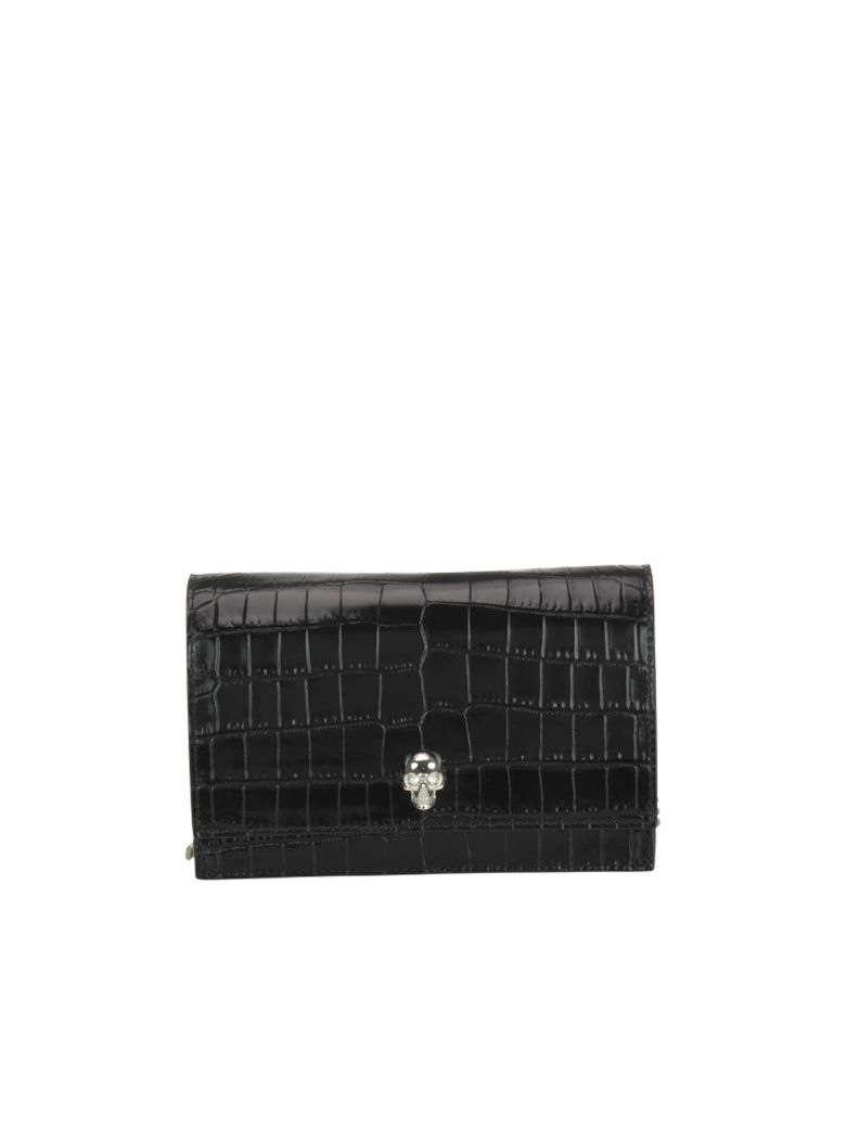 Alexander McQueen Skull Mini Bag - Black