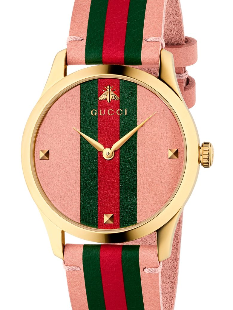 Gucci 'g-timeless Contemporary' Watch - Pink