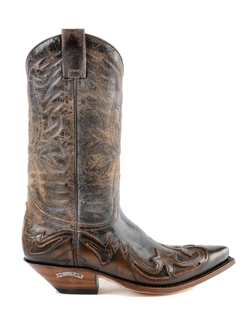 Sendra Texan Ankle Boots - Brown