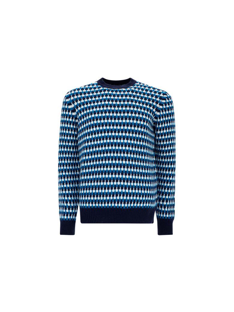 Prada Sweater - Navy/turchese