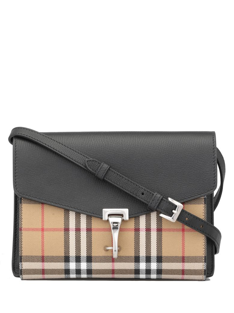 Burberry Small Macken Bag - BLACK
