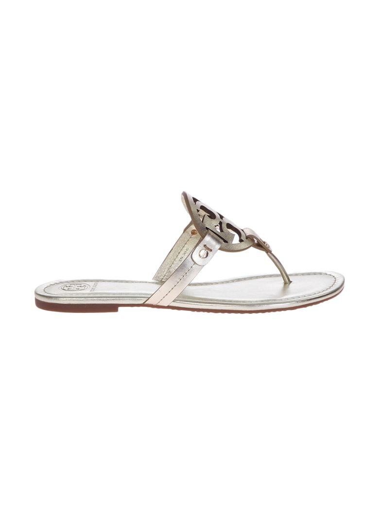 Tory Burch Metallic Miller Sandals - Metallic