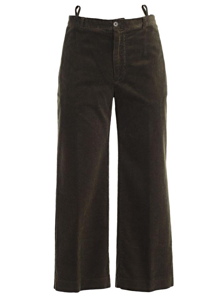 Aspesi Cropped Trousers - Verde