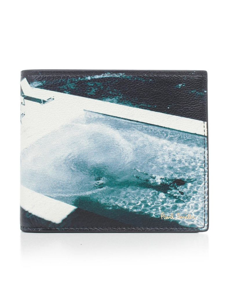 Paul Smith Paul's Photo Wallet - Blue