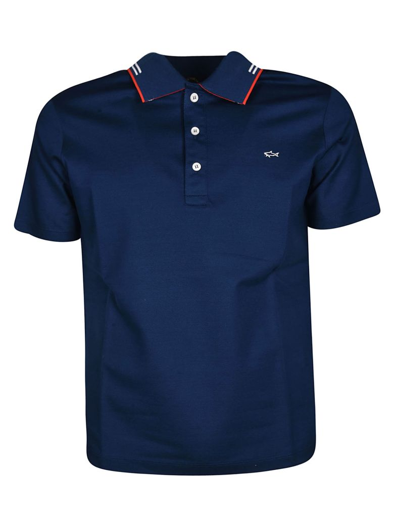 Paul&Shark Paul & Shark Classic Polo Shirt - Blue