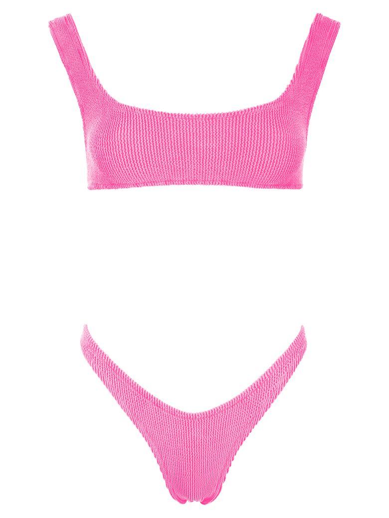 Reina Olga Ginny Scrunch Bikini - HOT PINK (Fuchsia)