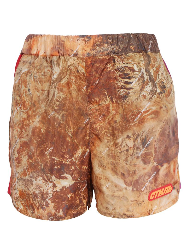 HERON PRESTON Camo Short - Multicolor
