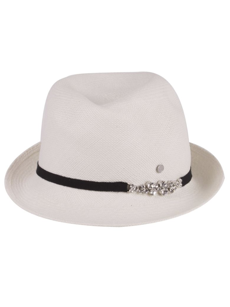 Maison Michel Hat - White