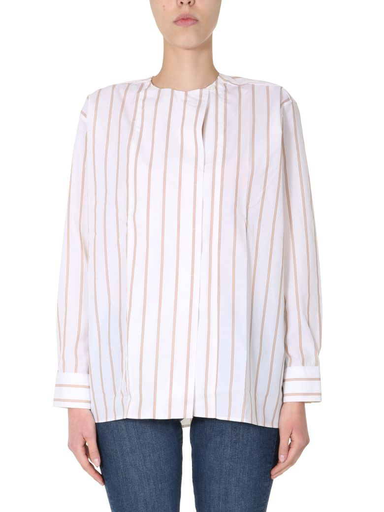 Paul Smith Striped Shirt - BEIGE