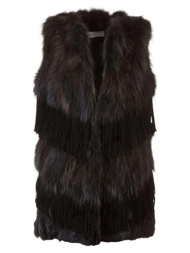 Bully Fur Vest - Black