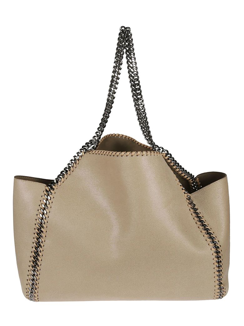 Stella McCartney Reversible Falabella Tote - cream yellow