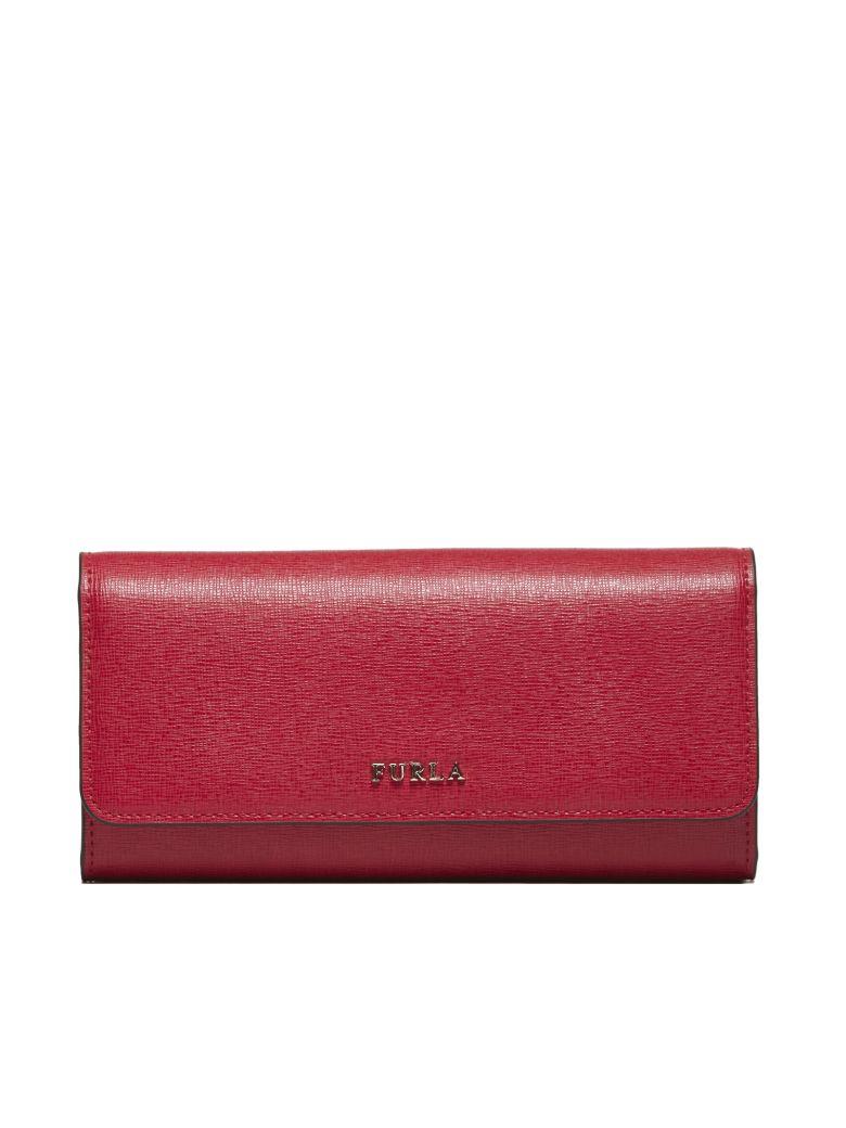 Furla Babylon Xl Continental Wallet - Rosso