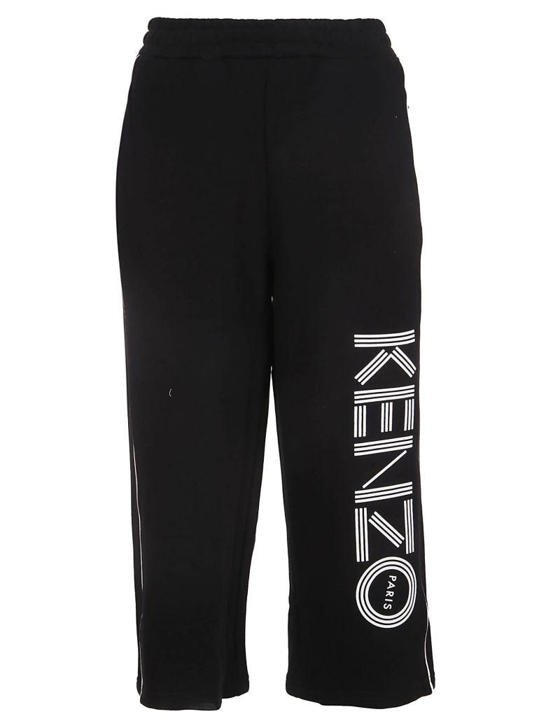 Kenzo Cropped Track Pants - Black