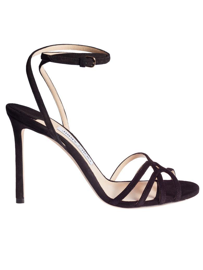 Jimmy Choo Mimi 100 Sandals - Black
