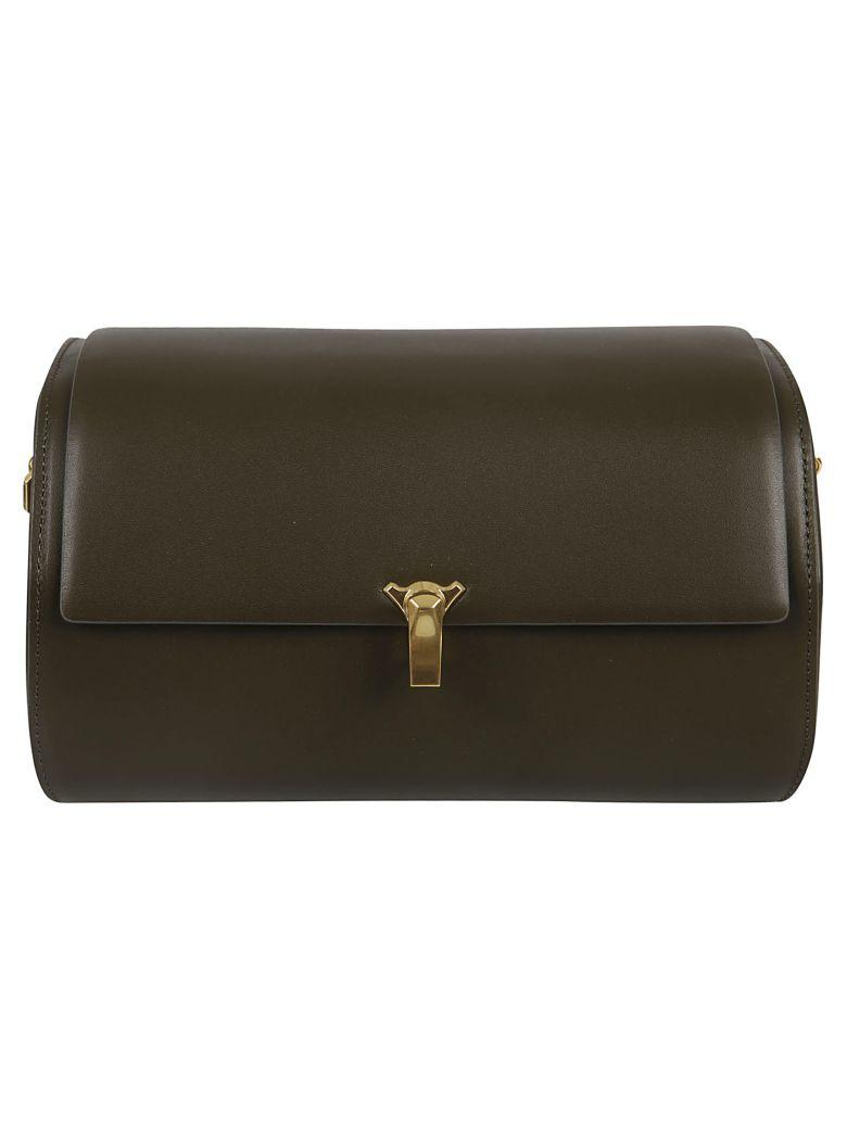 the VOLON Po Trunk Shoulder Bag - Khaki
