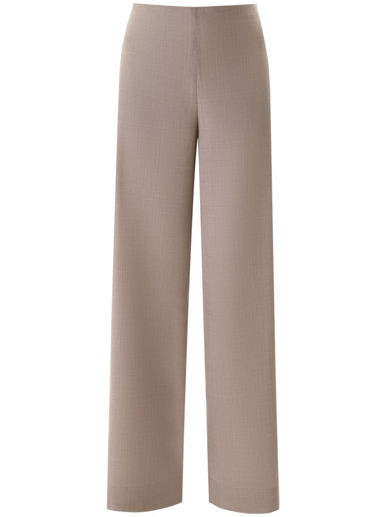 The Row Aaron Palazzo Trousers - MOONSTONE (Brown)