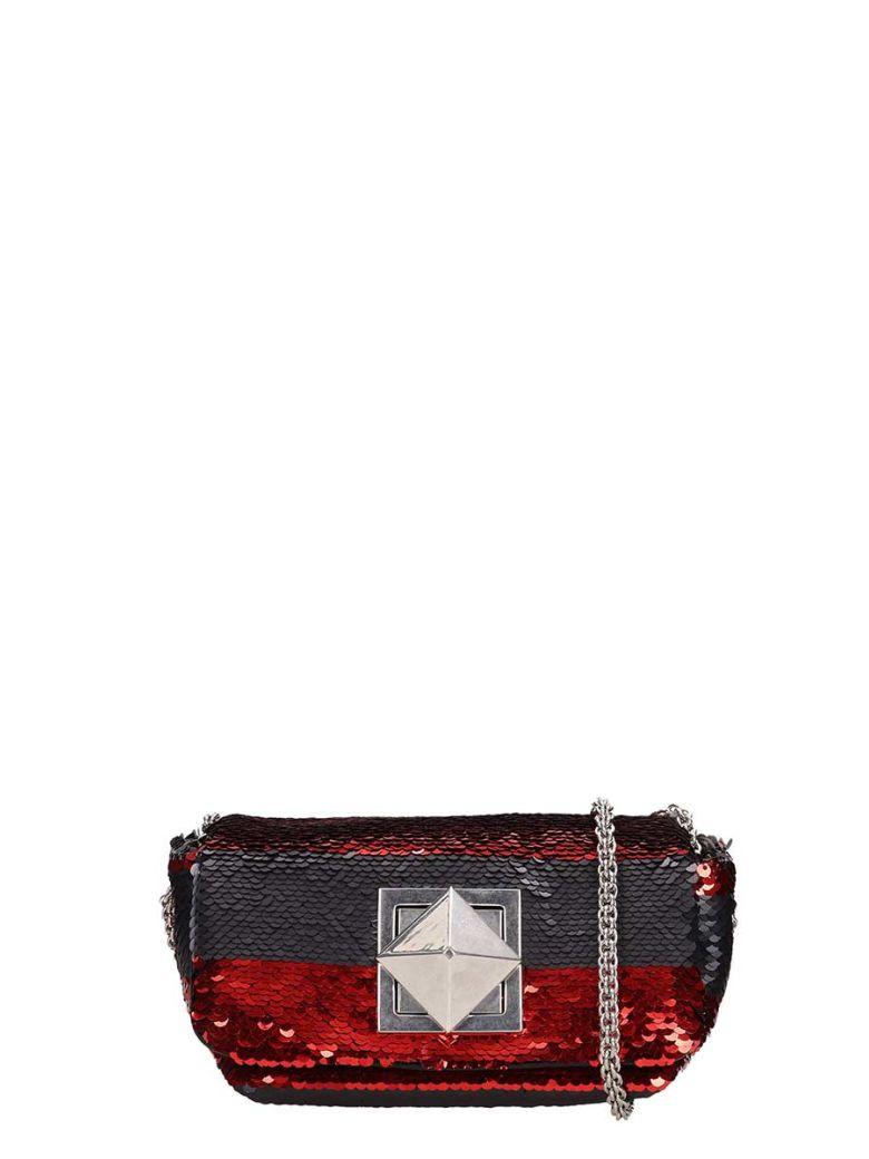 Sonia Rykiel Le Copain Sequins Bag - black
