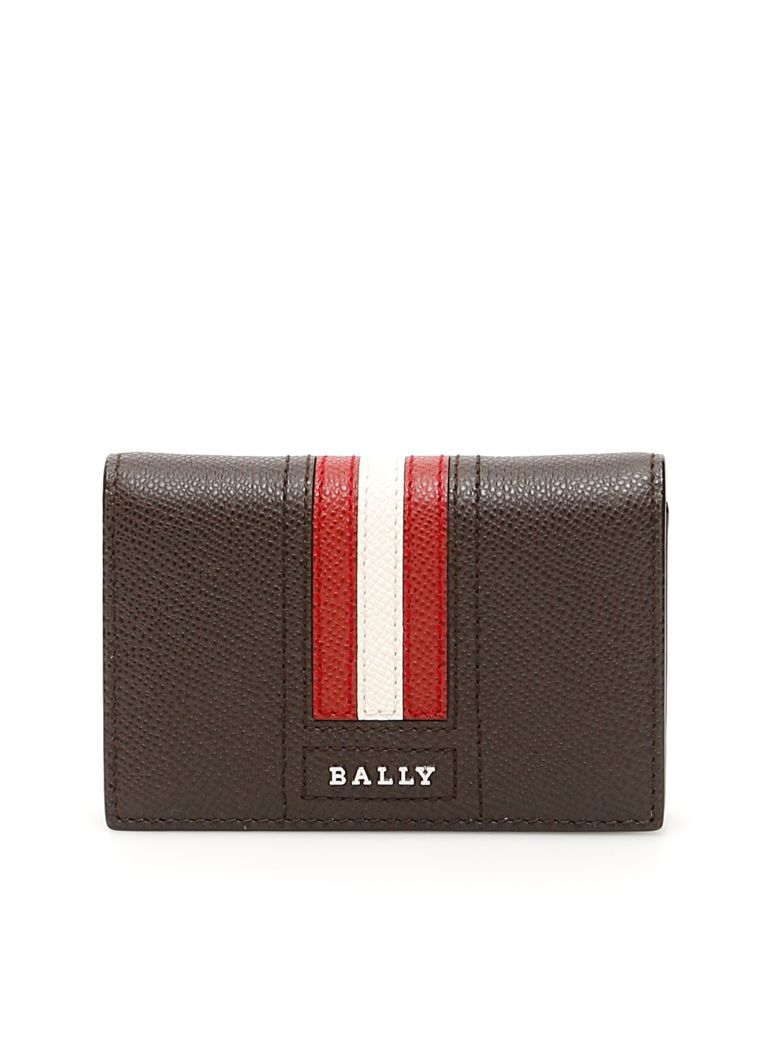 Bally Tyke Cardholder - COFFEE 16 (Brown)
